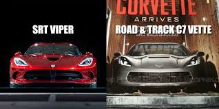 corvette vs viper why does the 2014 corvette c7 look just like an srt viper gm