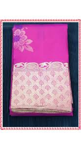 combination of rani pink with leaf green