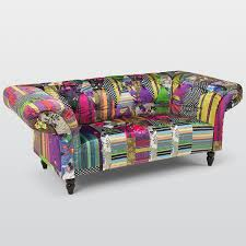 Chesterfield Patchwork Sofa by Vibe Chesterfield Fabric 3 Seater Sofa U2013 Next Day Delivery Vibe