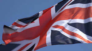 British Flag With Red British Union Jack Flag Stock Footage A Union Jack Flag Blowing