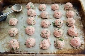 turkey meatballs in creamy mushroom baked turkey meatballs