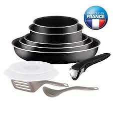 achat batterie de cuisine tefal ingenio essential batterie de cuisine 10 pièces l2008902 16 18
