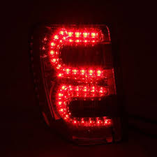 jeep grand cherokee led tail lights 2004 jeep grand cherokee led tail lights red clear