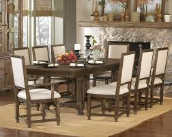 Table Nine 9 Piece Dining Room Sets Classy Casual Style Kitchen With 9