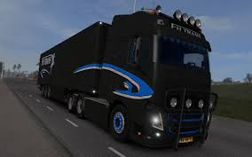 volvo kamioni ets2 volvo fh trans with trailer 1 23 u2013 simulator modification