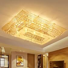 Light Fixture Ceiling Plate by Dramatic E12 E14 Rectangular Shaped Crystal Flush Mount Ceiling