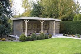 Summer Garden Houses Sale - log cabins flat roof summer houses