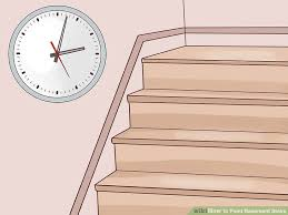 how to paint basement stairs 11 steps with pictures wikihow