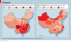 Population Map Of China by Little Match Children