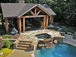 Backyard Cabana Ideas Swimming Pool Cabana Ideas Cheap Traditional Pool Design Pictures