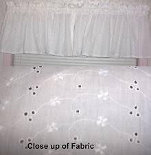 Black Curtains With Valance Kitchen Window Valance Ebay