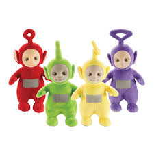 teletubbies 8 collectable talking soft toy assortment