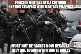 Military Police Meme - image tagged in police racism imgflip