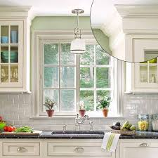 How To Install Kitchen Cabinet Crown Molding Choosing Sinks For Kitchen Cabinet Colors Kitchen Design Ideas Blog