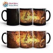 gifts for lord of the rings fans discoloration cup ring king mugs the lord of the rings fans gifts