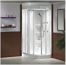 shower impressive prefabricated shower stalls corner shower