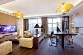 luxury home interior for elegant contemporary home shape from