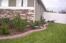 landscape design phoenix cape concrete designs landscape curbing
