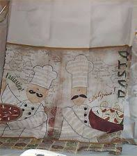 French Kitchen Curtains by French Country Cafe Tier Curtains Ebay