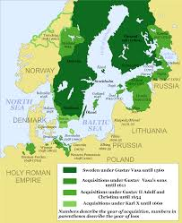 Scandinavia Blank Map by Swedish Empire Wikiwand