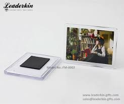 customize acrylic magnetic picture frames wholesale blank