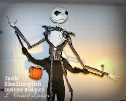 Jack Skeleton Costume Uniquely Grace Jack Skellington Handmade Costume Nightmare
