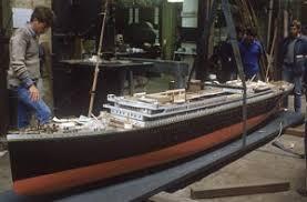 titanic floor plan builder s model of the olympic titanic 1912 merseyside maritime
