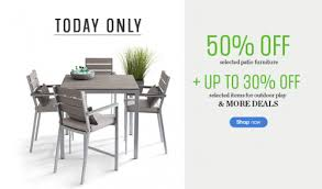 Sears Canada Patio Furniture Sears Canada One Day Sale Save 50 Off On Select Patio Furniture
