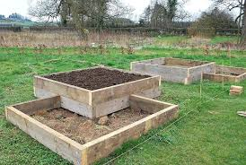 building a raised bed on a slope garden ideas building a raised