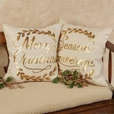 Christmas Pillows Pottery Barn Christmas Decorative Pillows Santa Decorative Pillow Pottery Barn