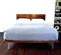Wood Platform Bed Frame Platform Bed Frame King Happyhippy Co