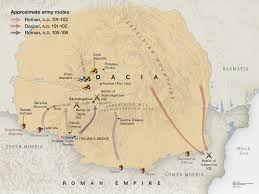 Map Of The Roman Empire Trajan U0027s Amazing Column National Geographic