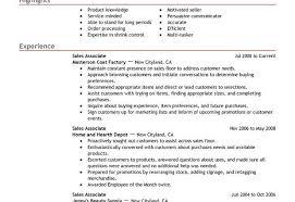 Sale Associate Resume Sales Associate Resume Examples Retail And Restaurant Associate