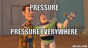 Everywhere Toy Story Everywhere Meme Generator - when you cook under pressure you trade perfection gordon ramsay