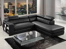 canapé d angle en cuir design canapé d angle en cuir de vachette 5 coloris leeds
