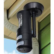 Outdoor Motion Sensor Security Lights by The Motion Tracking Security Light Hammacher Schlemmer