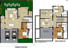 Villa Floor Plan by Artha One World Villa In Kelambakkam Chennai Price Location