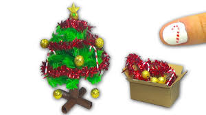 Christmas Decorations How To Make A Doll Christmas Tree And Christmas Decorations Diy