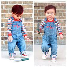 chucky costume toddler