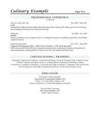 Demi Chef De Partie Resume Sample Sample Sous Chef Resume Resume Sample Resume Chef Resume For A
