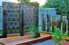 Privacy Garden Ideas Excellent Outdoor Privacy Garden Screensbe Metal Be Together