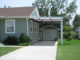 cream wall modern carport ideas for existing homes combined with