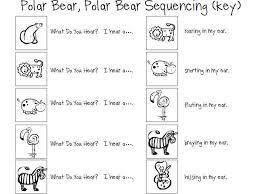 polar bear polar bear printable book speech room polar