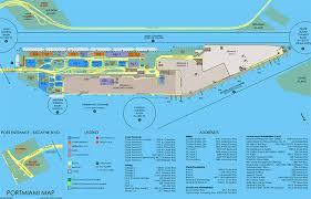 map port portmiami cruise terminals miami dade county