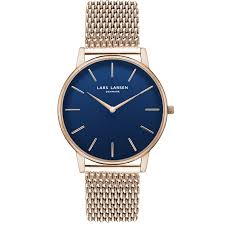 gold bracelet mens watches images Oliver mens watch rose gold watch with blue dial mens watches png