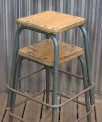 vintage bar stools for kitchen vintage metal bar stools