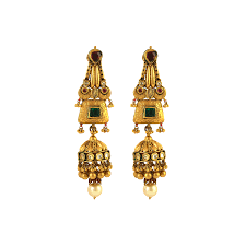 design of gold earrings with design gold earrings collections south indian earrings designs buy gold
