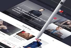 design magazine online hologram digital product user experience and visual design