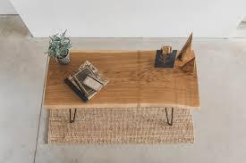 Oak Furniture Modern Reclaimed Oak Desk Or Table Sevensmith