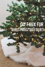 best 25 faux fur tree skirt ideas on fur tree white